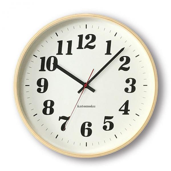 KATOMOKU plywood wall clock km-43N